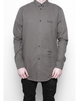 Yield Patched Olive Shirt