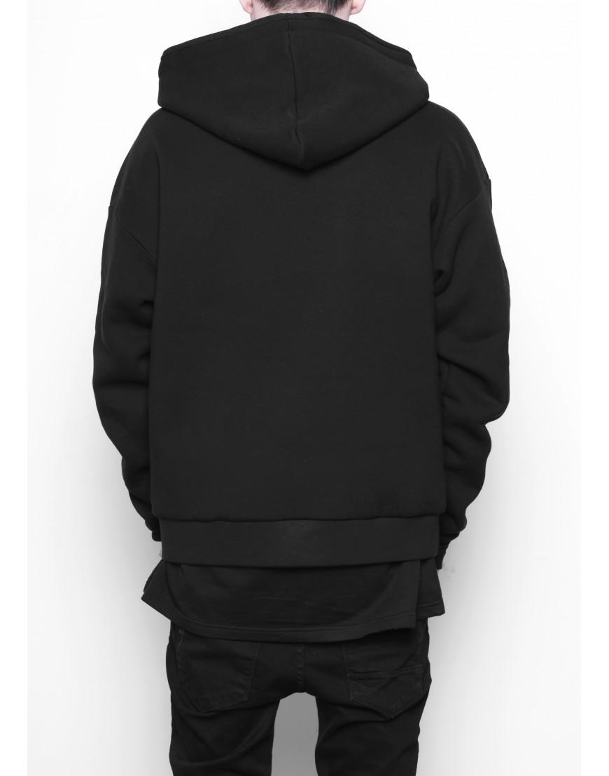 Black gothic 'Y' hoodie