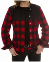 RED FLANNEL SHIRT WMNS