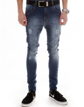 NEW DISTRESSED BLUE JEANS