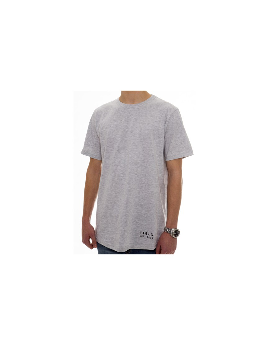 YIELD GREY ESSENTIAL T-SHIRT