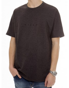 YIELD OVERSIZE GREY T-SHIRT