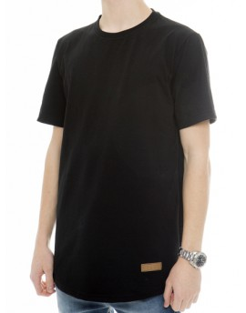YIELD BLACK ESSENTIAL T-SHIRT