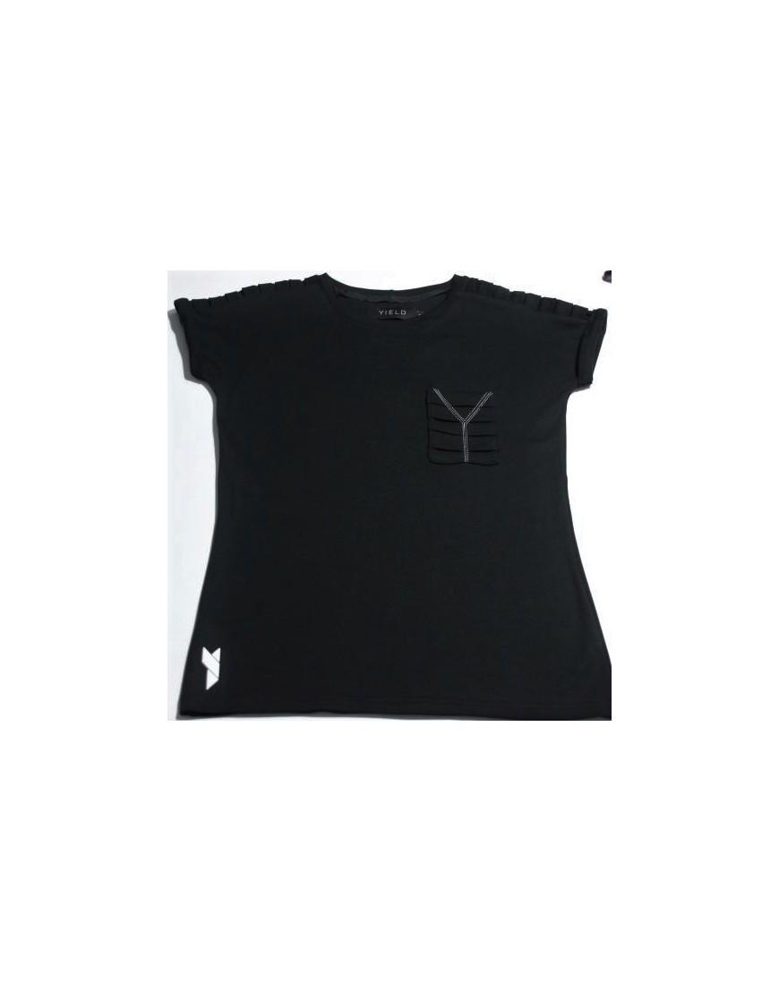 Damski t-shirt CRINKLED