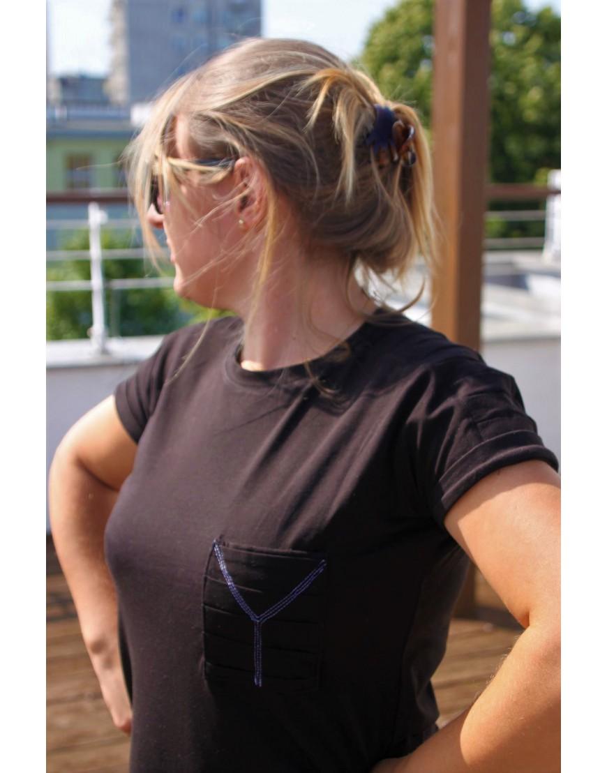 Women's t-shirt CRINKLED